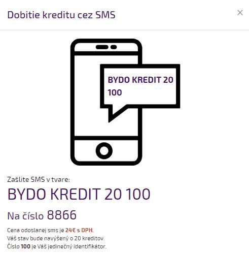 Kreditný systém 3 - SMS platba 160936