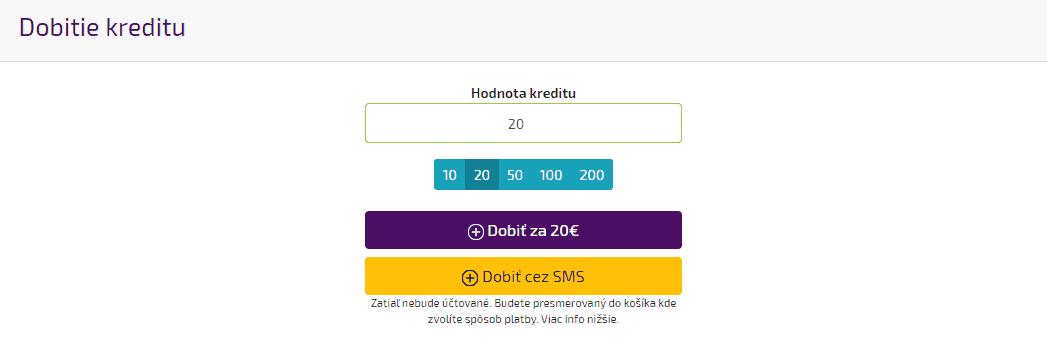 Kreditný systém 2 - voľba spôsobu platby 160937