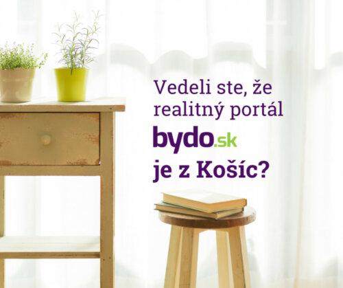 Vedeli ste o tom, že bydo.sk je z Košíc?